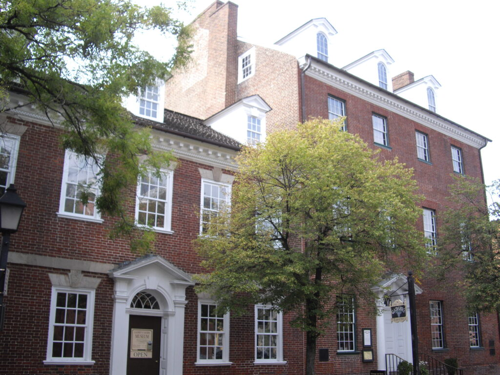 Old Town Alexandria Gadsby Tavern Architecture