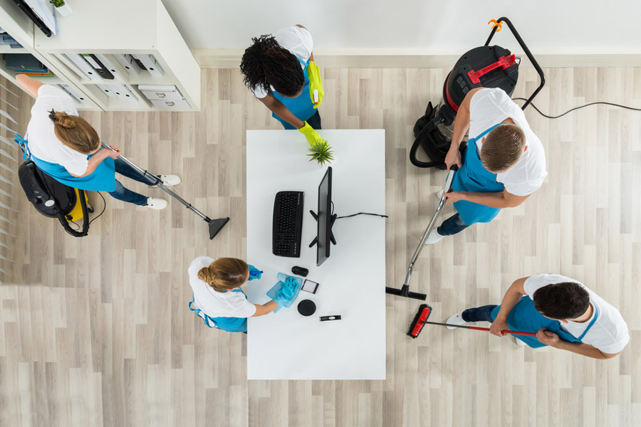 commercial cleaning dallas